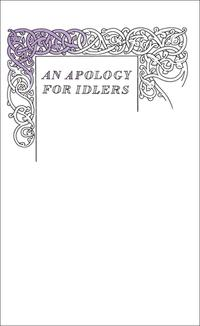 AnApologyforIdlers