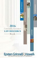 2016 Community Association Law Resource Book