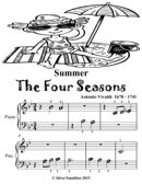 Summer the Four Seasons - Beginner Piano Sheet Music Tadpole Edition
