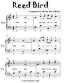 Reed Bird - Easiest Piano Sheet Music for Beginner Pianists