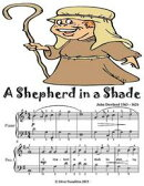 A Shepherd In a Shade - Easy Piano Sheet Music Junior Edition