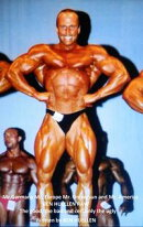 Mr. Germany, Mr. Europe, Mr. Universe And Mr. America Ben Huellen Raw, The Good, The Bad And Certainly The Ugly.