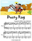 Dusty Rag - Easiest Piano Sheet Music Junior Edition