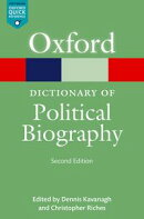 A Dictionary of Political Biography