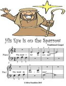 His Eye Is On the Sparrow - Beginner Tots Piano Sheet Music
