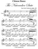 Chinese Dance the Nutcracker Suite - Elementary Piano Sheet Music