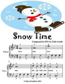 Snow Time - Easiest Piano Sheet Music Junior Edition