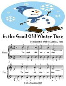 In the Good Old Winter Time - Easiest Piano Sheet Music Junior Edition
