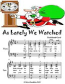 As Lately We Watched - Elementary Piano Sheet Music Junior Edition