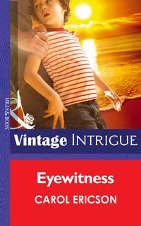 Eyewitness(Mills&BoonIntrigue)(GuardiansofCoralCove,Book2)