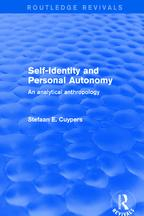 Revival:Self-IdentityandPersonalAutonomy(2001)AnAnalyticalAnthropology