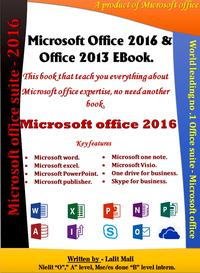 Microsoftoffice2016&2013ebookLearnmicrosoftofficeallapplication