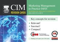CIMRevisionCards:MarketingManagementinPractice04/05