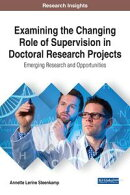 Examining the Changing Role of Supervision in Doctoral Research Projects