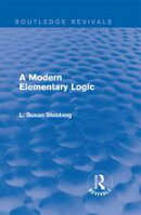 Routledge Revivals: A Modern Elementary Logic (1952)