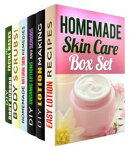 Homemade Skin Care Box Set (6 in 1): Easy Organic Lotions and Body Scrubls for Your Healthy Luxurious Skin