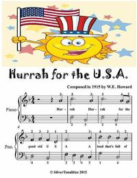 HurrahfortheUsa-EasiestPianoSheetMusicJuniorEdition