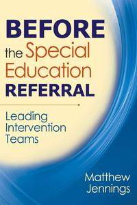 BeforetheSpecialEducationReferralLeadingInterventionTeams