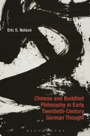 Chinese and Buddhist Philosophy in Early Twentieth-Century German Thought