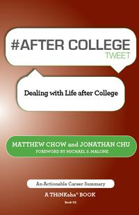 #AFTERCOLLEGEtweetBook01DealingwithLifeafterCollege
