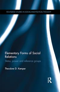 ElementaryFormsofSocialRelationsStatus,powerandreferencegroups