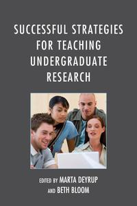 SuccessfulStrategiesforTeachingUndergraduateResearch