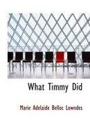 What Timmy Did