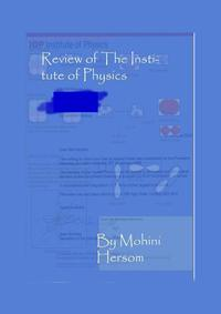 ReviewofTheInstituteofPhysics