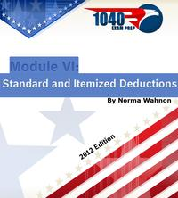1040ExamPrepModuleVI:StandardandItemizedDeductions