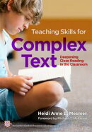 Teaching Skills for Complex Text