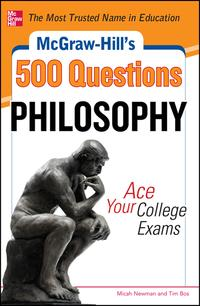 McGraw-Hill's500PhilosophyQuestions:AceYourCollegeExams