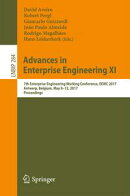 Advances in Enterprise Engineering XI