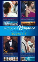 Modern Romance Collection: November 2017 Books 1 - 4 (Mills & Boon e-Book Collections) (One Night With Consequences, Book 35)