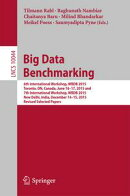 Big Data Benchmarking