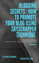 Blogging Secrets : How to Promote Your Blog Using Skyscraper Technique