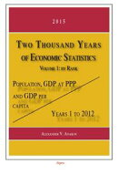 Two Thousand Years of Economic Statistics, Years 12012