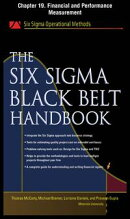 The Six Sigma Black Belt Handbook, Chapter 19 - Financial and Performance Measurement