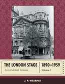 The London Stage 1890-1959