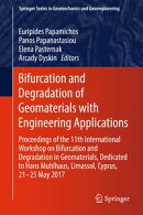 Bifurcation and Degradation of Geomaterials with Engineering Applications