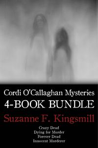 CordiO'CallaghanMysteries4-BookBundleCrazyDead/DyingforMurder/InnocentMurderer/and1more