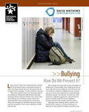 Bullying: How Do We Prevent It?