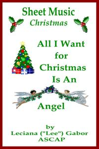 SheetMusicAllIWantForChristmasIsAnAngel