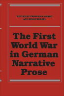 The First World War in German Narrative Prose