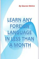 Learn any foriegn language in a month