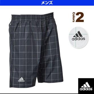 [阿迪达斯网球·羽毛球服装(男子的/uny)]club格子花纹乌短裤/人(bxh