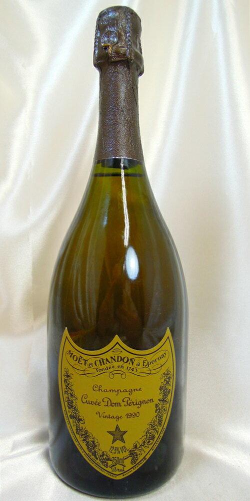【古酒】ドンペリニヨン 白 1990 箱なし 正規品