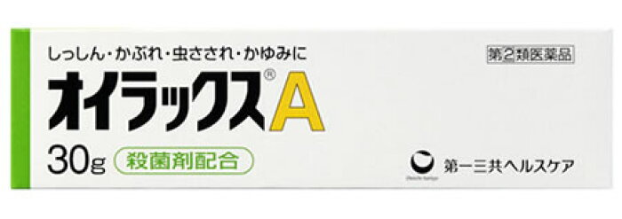【第(2)類医薬品】第一三共ヘルスケア <br>オイラックスA <br>(30g) ツルハドラッグ