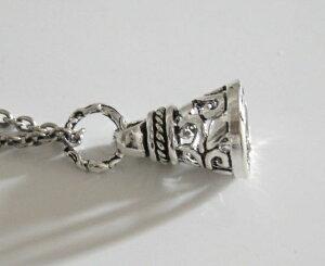 スモールベルペンダント(2) メイン シルバー925製 ペンダント 銀 小さな鈴型ペンダント ネックレス 送料無料 おしゃれ