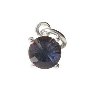 ミスティッククォーツのペンダント(3) メイン 天然石 パワーストーン ネックレス紫 虹色 シルバー925 銀 メンズ レディース 送料無料 おしゃれ
