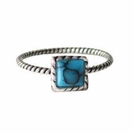 デザインリング(40)ターコイズ07号 09号 11号 13号 15号 17号 メイン 天然石 ターコイズ トルコ石 シンプルな指輪 シルバー925 銀 送料無料 おしゃれ メンズ レディース
